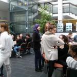Rencontre avec les élèves au lycée de Prague