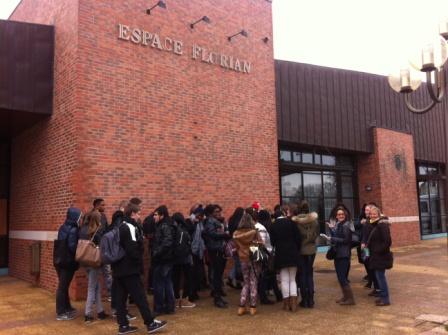 40 élèves du Lycée Représentation théâtrale en anglais pour 40 lycéens de Jean Lurçat