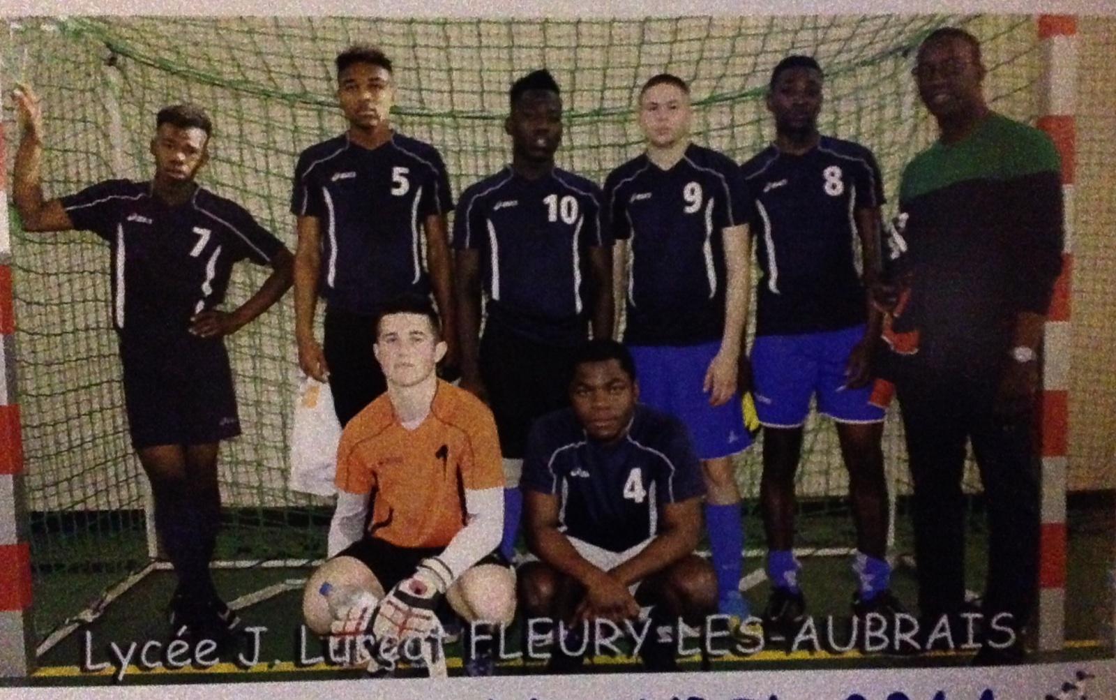 Le lycée Jean Lurçat aux championnats de France 2014