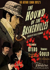 "Poster ""The Hound of the Baskervilles"""