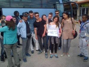 Avec les touristes chinois