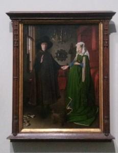 Epoux Arnolfini VAN EYCK National Gallery