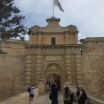 Entrée de l'ancienne capitale, Mdina