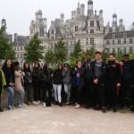 La classe à Chambord!